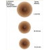 Selbsthaftende Brustwarzen / Nippel AMOENA ®